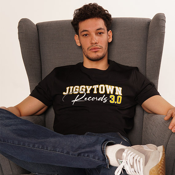 Jiggytown Records T-Shirt schwarz